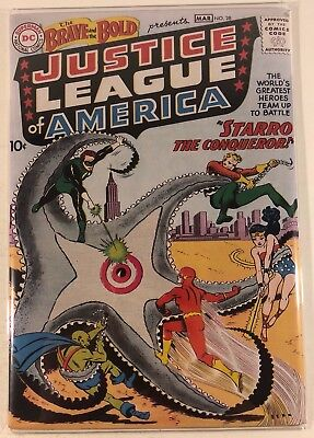 The Brave And The Bold #28 1st justice leauge of america (Color Copy Cover)