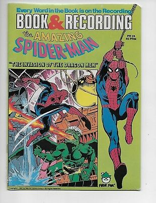 Vintage 1981 The Amazing Spider-man Comic Book and Record Set. Sealed