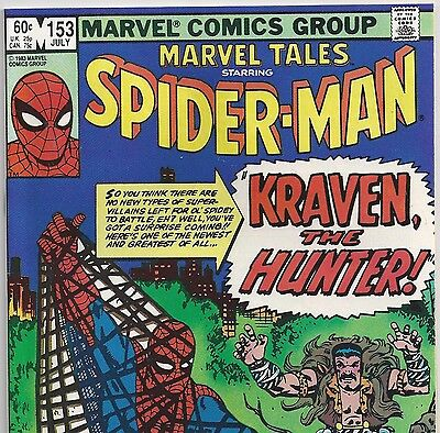 The Amazing Spider-Man #15 Reprint in Marvel Tales #153 from July.1983 in VF