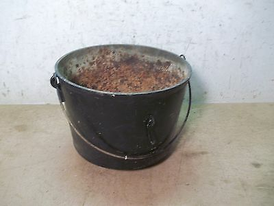 Old 3 Footed Cast Irton Kettle  for  Flower Pot Garden Planter