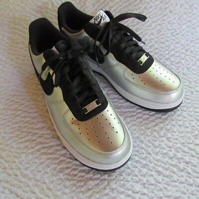 Nike Air Force 1 Metallic Silver Men's Shoes 11 US 488298-054 Athletic New