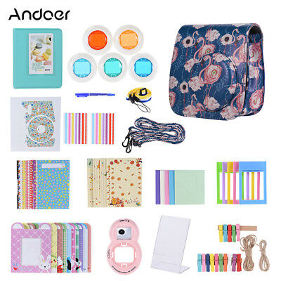 Andoer 14 in 1 Accessories Kit for Fujifilm Instax Mini 9/8/8+/8s with K6P1