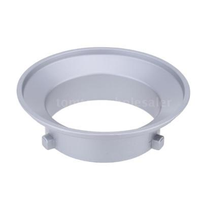 Godox 144mm Diameter Mounting Flange Ring Adapter Hood for Flash for Bowens I7T9