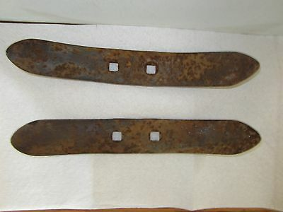 Antique Vintage Plow Blades Lot Of 2