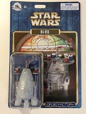 Disney Parks Star Wars 2018 R4-H18 Holiday Christmas Droid Factory Figure