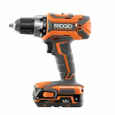 Ridgid ZRR860053SB GEN5X 18V 1.5 Ah  1/2 in. Drill Driver Kit (Refurbished)