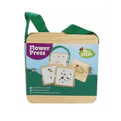 LARGE Mrs Green Traditional Moist Absorbent Colour Preserving Flower Press & Dry