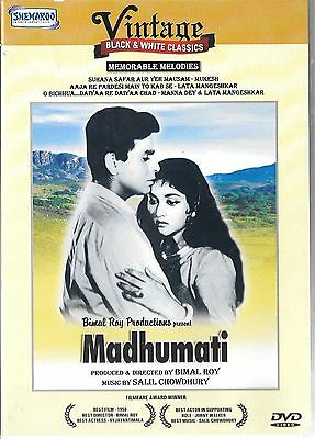 Madhumati - Dilip Kumar - Vyjayantimala - New Bollywood Dvd - Free Uk Post