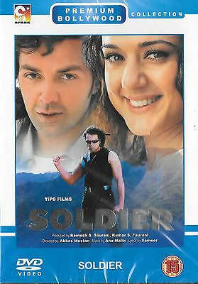 Soldier - Boby Deol - Preety Zinta - New Super Hit Bollywood Dvd - Free Uk Post