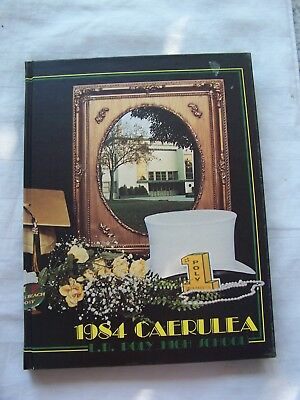 1984 Long Beach Poly High School Yearbook Long Beach, California Unmarked