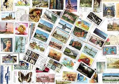 A Lovely Mix Of Mostly Recent Commemorative Stamps From Germany