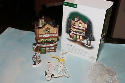 Dept. 56 *THE DAILY NEWS* Dickens' Village  #58513 Building only