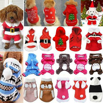 Pet Small Dog Cat Puppy Clothes Jacket Vest T Shirt Hoodie Coat Apparel Costume