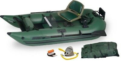 Sea Eagle 285FPB Inflatable Frameless Pontoon Boat - Pro Package