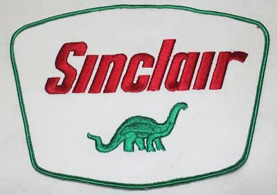"Large NOS Sinclair Patch Original Oil Service Gas Station Patch 8.875""x6.25 "" #1"