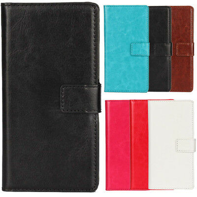 For Elephone Oukitel - Luxury PU Leather Flip Case Phone Book Wallet Cover Skin