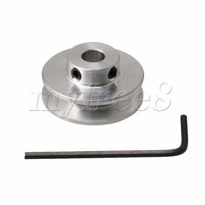 31x7mm Aluminum Alloy Step V-type Pulley DIY Drilling Machine Transmission