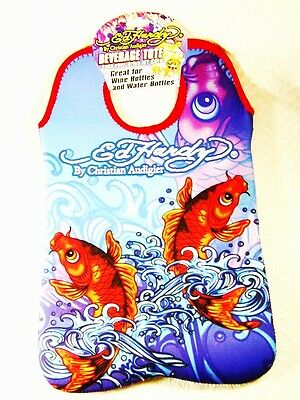 Large Brand New Ed Hardy Fish Tote by Christian Audigier
