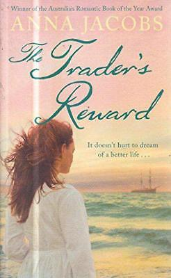 The Trader S Reward by Jacobs  Anna, Good Book (Hardcover) Fast & FREE Delivery!