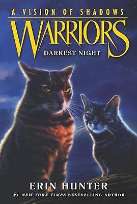 Warriors: a Vision of Shadows #4: Darkest Night by Erin Hunter Paperback Book Fr