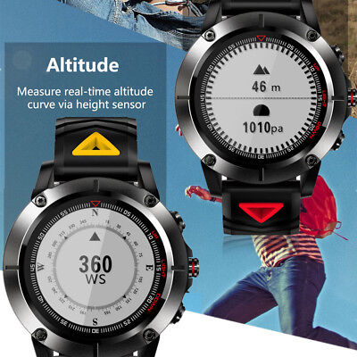 G01 Sports Smart Watch IP68 Waterproof 512K ROM Heart rate monitor Compass GPS