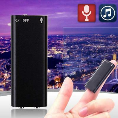 150Hr Mini USB 8GB Digital SPY Hidden Audio Voice Recorder MP3 Player Dictaphone