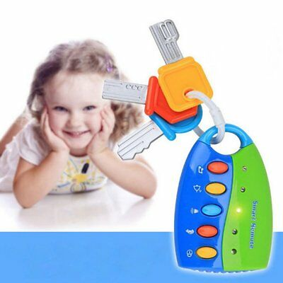 Simulation Remote Control Car Key Lock Toy Early Educational Toy for Kids F1