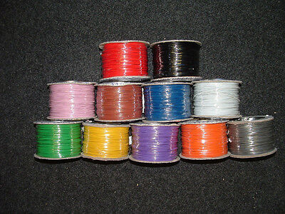 13M Mixed Colour Equipment Wire 7 Strand 7/0.2mm Electronic Electric  Cut Length