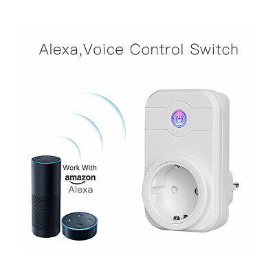 Wireless Smart Plug WiFi-Sockel Steckdose für Amazon Alexa / Google Home N2G4