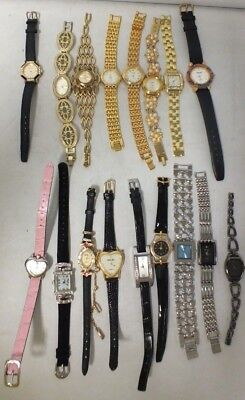 Job lot of old watches  ladies, UNTESTED  (LOT 4) Hol)