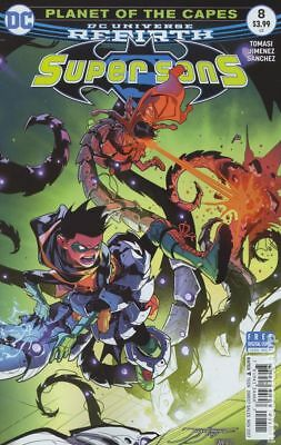 Super Sons (DC) #8A 2017 Jimenez Variant VF Stock Image