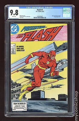 Flash (2nd Series) #1 1987 CGC 9.8 1620450007