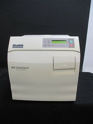 Used Midmark M9 Dental Lab Autoclave Steam Sterilizer for Instruments