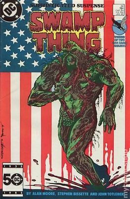 Swamp Thing (2nd Series) #44 1986 VG Stock Image Low Grade