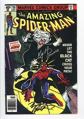Amazing Spider-Man #194 Vol 1 Near Perfect High Grade 1st App of the Black Cat