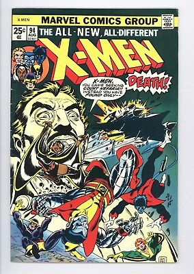 X-Men #94 Vol 1 Super High Grade 2nd Appearance of the New Team 1975
