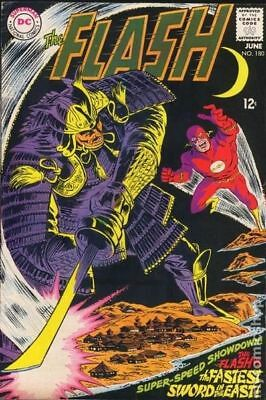 Flash (1st Series DC) #180 1968 GD/VG 3.0 Stock Image Low Grade
