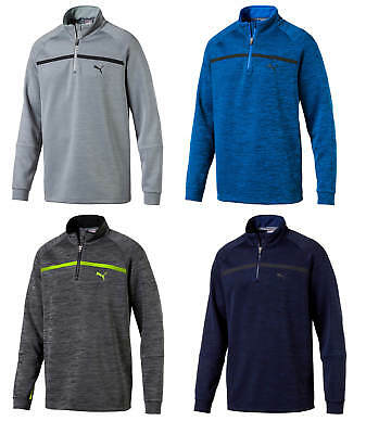 Puma PWRWARM Bonded 1/4 Zip Golf Pullover 574546 Closeout 2018 New