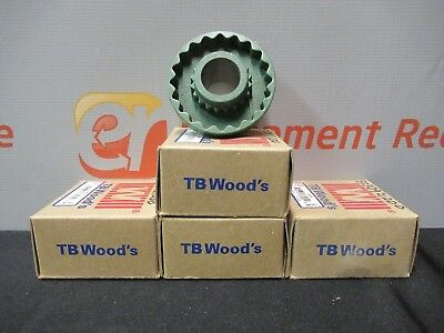TB Woods 5SC35 SF Spacer Flange Sleeve Coupler Sure Flex Iron Lot of 4 New