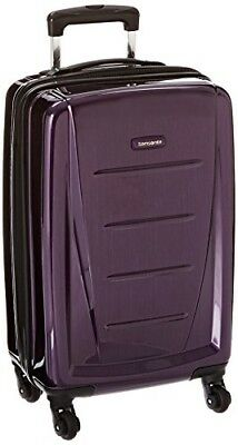 "Samsonite Winfield 2 Hardside 20"" Luggage, Purple"