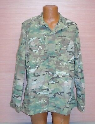 US Military Issue Multicam OCP Camouflage Army Combat Coat Jacket FR Sz LL