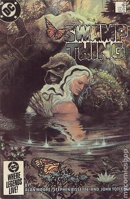 Swamp Thing (2nd Series) #34 1985 FN+ 6.5 Stock Image