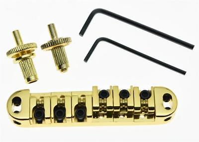 *NEW Roller Saddle BRIDGE for Gibson Tune-o-Matic Style Les Paul SG Gold