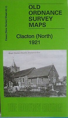Old Ordnance Survey Maps  Clacton (North)  Essex 1921 Sheet 49.10 New
