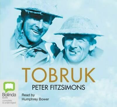 NEW Tobruk By Peter FitzSimons Audio CD Free Shipping