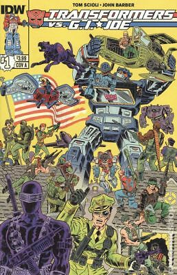 Transformers vs. G.I. Joe (IDW) 1A 2014 FN Stock Image