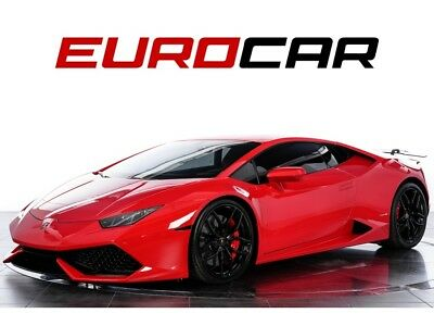 2015 Huracan LP 610-4 Carbon Fiber Rear Wing, Lifting System, Transparent Engine Bonnet