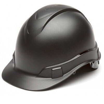 Pyramex HP44117 Ridgeline Black Graphite Hard Hat