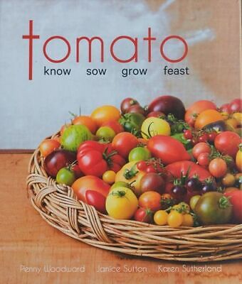 NEW Tomato By Penny Woodward Hardcover Free Shipping