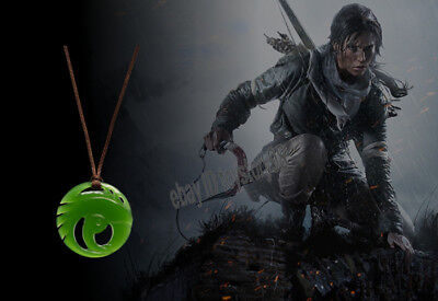 Shadow of the Tomb Raider Lara Croft Pendant Necklace Limited Cosplay Jewelry